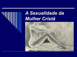 Sexualidade da Mulher Cristã
