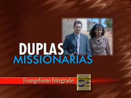 Duplas Missionárias