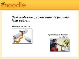 Introdução ao MOODLE - nonio.ese.ipsantarem.pt