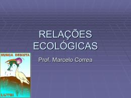 relacoes ecologicas