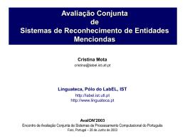 ppt - Linguateca
