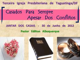 Homem e Mulher - 3ª Igreja Presbiteriana de Taguatinga