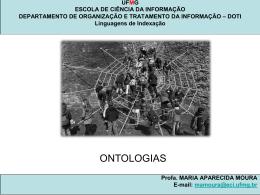 ONTOLOGIA - Maria Aparecida Moura