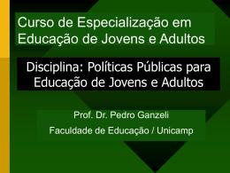 Aula2GEPEJA - Faculdade de Educação