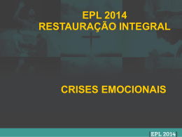 epl 2014 restauração integral crises emocionais