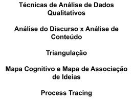 AULA-7-Técnicas de Analise de Dados Quali