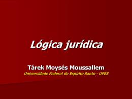 Lógica Jurídica - Tárek Moussallem