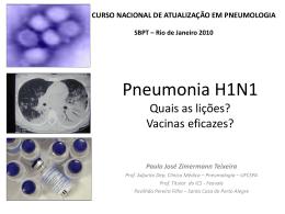 Curso Nacional de Pneumologia