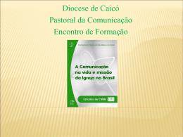 Slide 1 - Diocese de Caicó