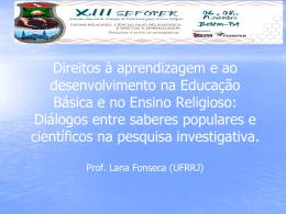 Slides Profª Lana