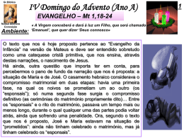 IV Domingo Advento (AnoA)
