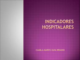 aula: indicadores hospitalares - Universidade Federal de Juiz de Fora