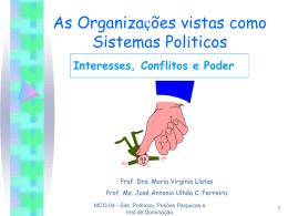 metáforas-sistemas políticos, prisões psíquicas e inst de dominação
