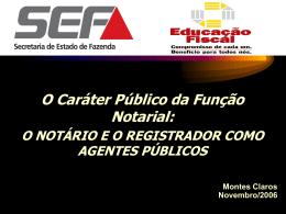 O Notário e o Registrador como agentes públicos (Power