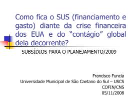 Como ficam as finanças públicas dos municípios brasileiros diante