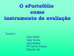 e-portefólios como instrumento de avaliação