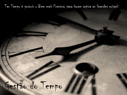 gestao tempo - WordPress.com