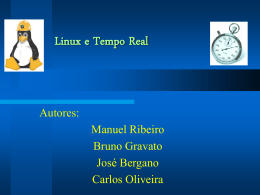 Linux e Tempo Real