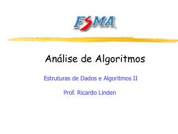 Notação O - Algoritmos Genéticos, por Ricardo Linden