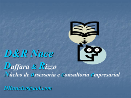 Daffara & Rizzo D&R Nace O MAL ESTAR DO PÓS