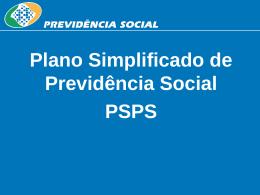 Plano Simplificado de Previdência Social