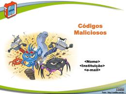 Fasciculo Códigos Maliciosos - Cartilha de Segurança para Internet