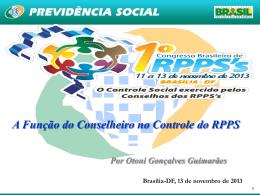 CRIAÇÃO DE NOVOS RPPS