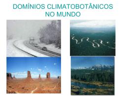 dominios climatobotanicos no mundo