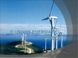 O USO DE ENERGIA NO MUNDO