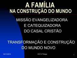 a família na construção do mundo