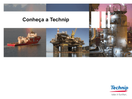 A Technip no Mundo