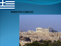 O MUNDO ANTIGO, GRÉCIA E ROMA