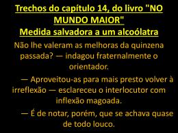 NO MUNDO MAIOR - André Luiz