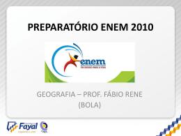 10 - ENEM 2010 - GEO
