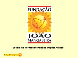 A III Internacional - Fundação João Mangabeira