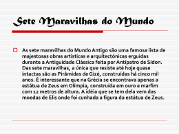 Sete Maravilhas do Mundo Antigo(11-05-09) - pradigital