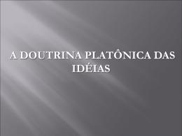 Doutrina das Ideias