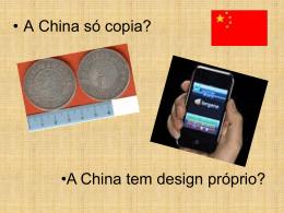 PRINCIPAIS CONTRIBUIÇÕES CHINESAS