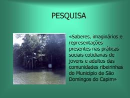 A Educação em Discussão: da Amazônia Brasileira para o Mundo