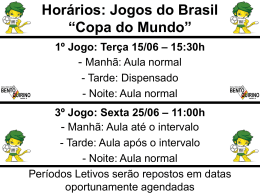 "Jogos Brasil ""Copa do Mundo"""