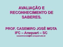 Prof. Casemiro Mota