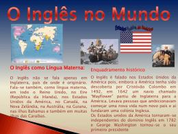 O Inglês no Mundo (7083008)