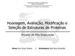 Análise de um Modelador de Estrutura de Proteínas e seus