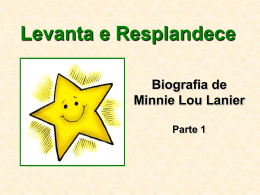Biografia Levanta e Resplandece – Ilustrações