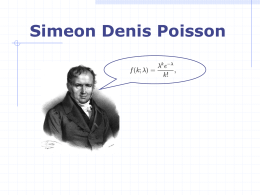 Simeon-Denis Poisson