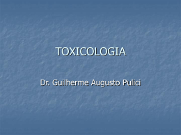tóxico - Toxnet