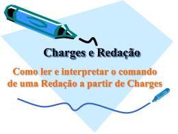 Interpretação de charges