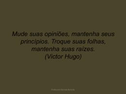 Mude suas opiniões, mantenha seus princípios
