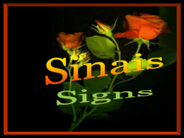 Sinais - The Spiritist Psychological Society