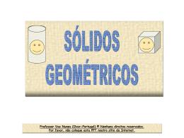 Os sólidos geométricos